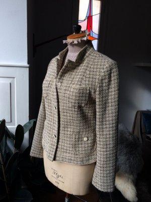 Boucle Blazer, Jacke, tolle Farbe und Details - sgt. erhalten