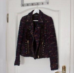 Zara Blazer in maglia multicolore