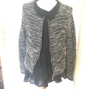 Boucle Bouclejacke Cardigan Jacke Wollmischung Wolle