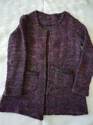 Veste en laine multicolore