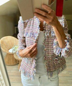 Bouclé Jacke#Zara Neu!