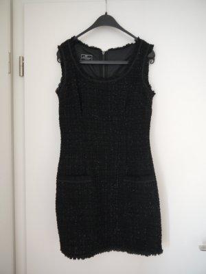 Bouclé-Kleid im Chanel-Stil