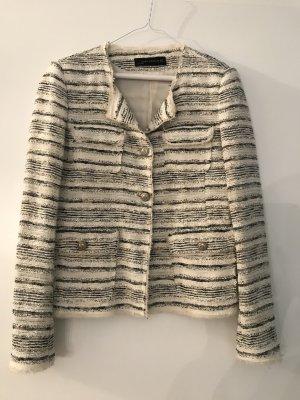 Zara Woman Tweed blazer wolwit-petrol