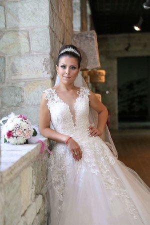 Natalie Robe de mariée blanc-blanc cassé