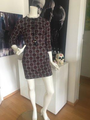 Boutique London Soho Designer Mini Kleid Retro Print 34