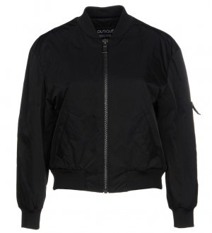 Boutique Moschino Bomber Jacket black polyester