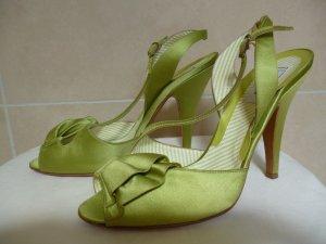 Boutique Moschino Sandaletto con tacco alto verde oliva
