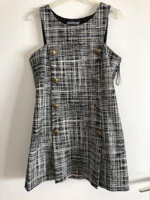 Boutique Moschino Mini Dress black-white