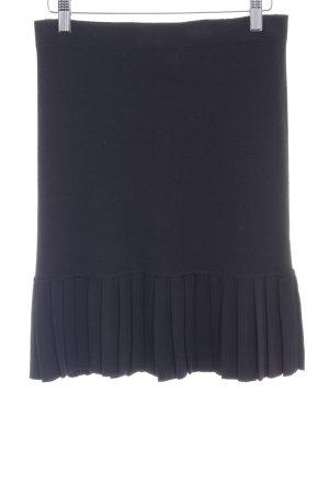 Boutique Moschino Falda de punto negro elegante
