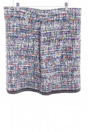 Boutique Moschino Wool Skirt weave pattern business style