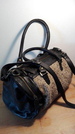 Bowling Bag, Leder, schwarz