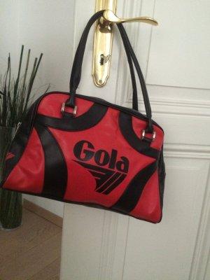 Gola Handtas rood-zwart