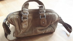 Bowling Bag Zara Basic Wildleder