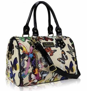 Bowling Bag beige-cream synthetic