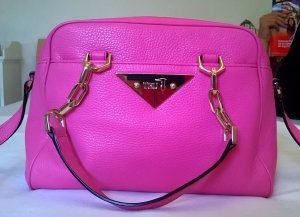 Tru Trussardi Bowling Bag pink-gold-colored leather