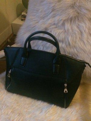 Bowlingbag, Tasche, schwarz, von Mango, neuwertig