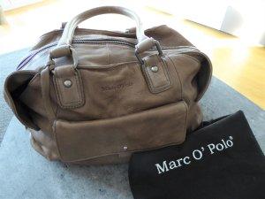 Marc O'Polo Sac bowling gris brun