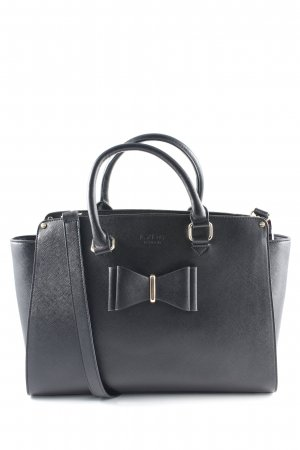 Bowlingtasche schwarz-goldfarben Elegant
