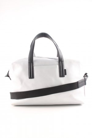 Bowling Bag silver-colored-black casual look