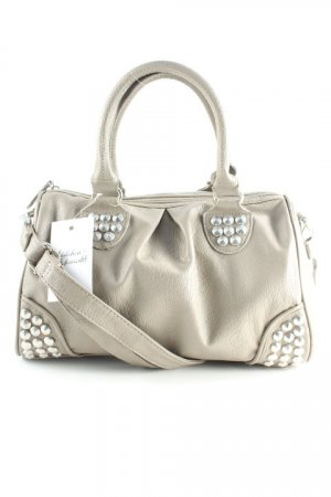 Bowlingtasche taupe-silberfarben Casual-Look