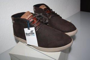 Boxfresh  Alvendon Herren Hohe Sneaker Gr.42/41,5 Braun Leder