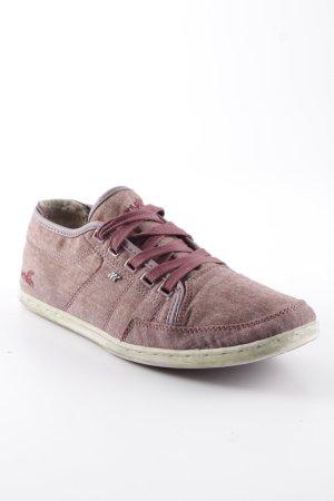 Boxfresh Lace Shoes russet-mauve casual look
