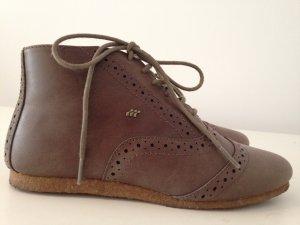 Boxfresh Stiefeletten perforiert Boho vintage Schnürschuhe