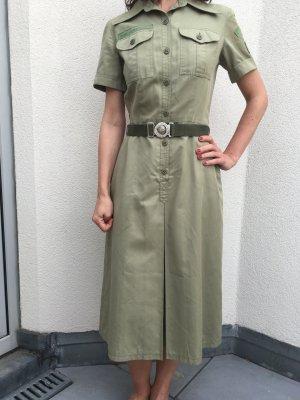 Boy Scouts khakifarbenes Vintage - Midikleid von Betty Barclay in Größe 36