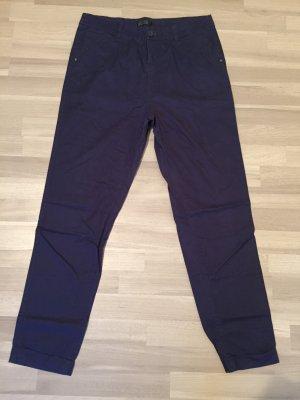 Only Pantalon boyfriend bleu foncé