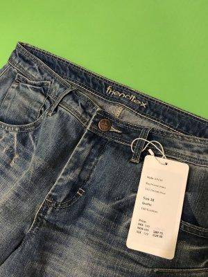 Boyfrien Jeans von Friendtex - Gr 38