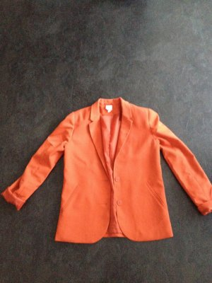 Boyfriend-Blazer von Monki / Orange