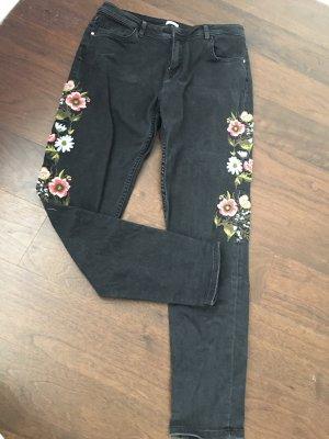 Pimkie Boyfriend Jeans grey-black
