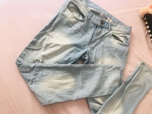 H&M Pantalone boyfriend azzurro