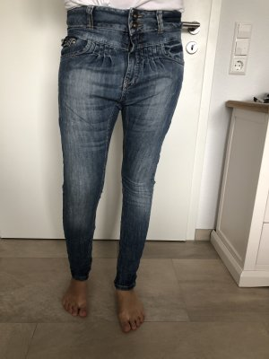 Review Boyfriend Jeans blue