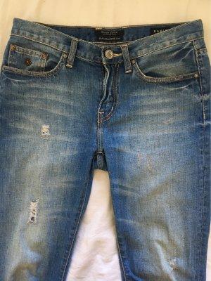 Maison Scotch Boyfriend jeans korenblauw