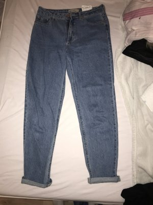 Bershka Jeans boyfriend azzurro