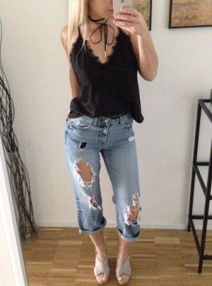 Boyfriend Jeans 34 XS Denim Oversize Culotte Boyfriendjeans Blogger Influencer