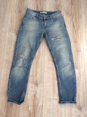 Zara Boyfriend Jeans slate-gray