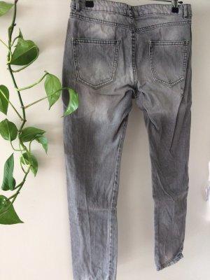 Pimkie Pantalon boyfriend gris-gris clair