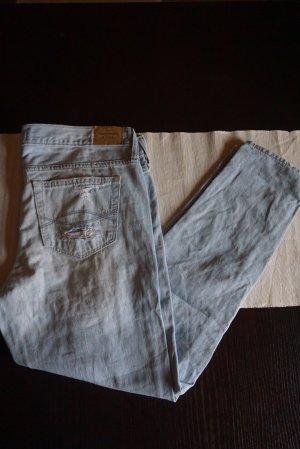 Abercrombie & Fitch Boyfriend jeans lichtblauw