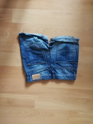 BlendShe Boyfriend jeans donkerblauw