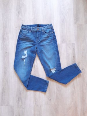 Boyfriend Jeans blau Gr. 34