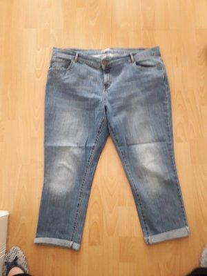 Dorothy Perkins Jeans boyfriend bleu acier coton