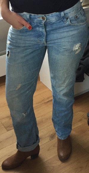 Boyfriend Jeans Gr. 26 von H&M