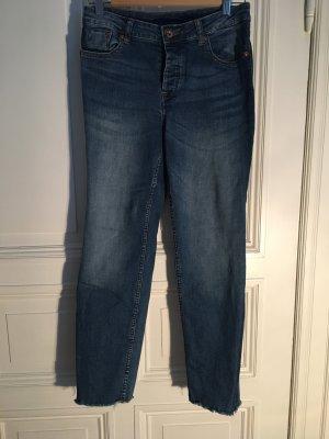 Boyfriend Jeans H&M Divided Blau Grösse 38