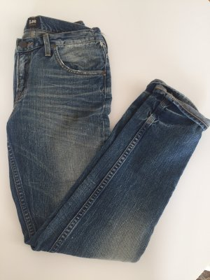 Boyfriend Jeans im used destroyed Look von lee Gr. 26