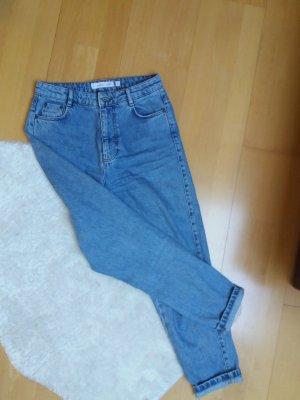Subdued Boyfriend Jeans azure-cornflower blue
