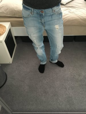 Boyfriend-Jeans Used-Look Noisy May Gr. 36