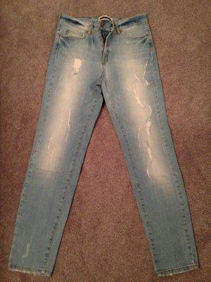 Boyfriend-Jeans Used-Look Noisy May Gr. 36