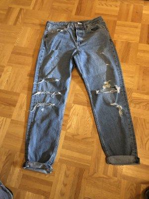 H&M Boyfriend Jeans blue